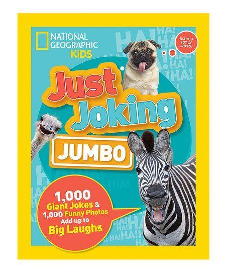 Olivia - National Geographic Just Joking: Jumbo Paperback | zulily