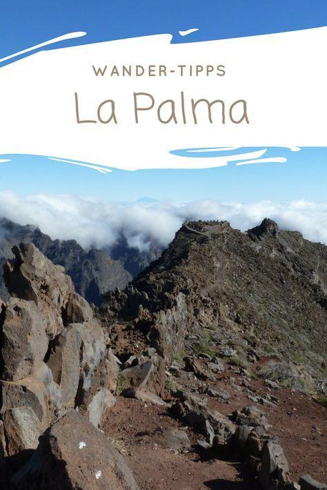 Die schönsten Wanderungen auf La Palma. Unser Reisebericht für deinen Wanderurlaub auf der Kanareninsel. Abwrechslungsreiche Wanderwege vorbei an Vulkanen, Steilküsten, Bananenplantagen, durch Wälder oder zu einer einsamen Schmugglerbucht. Leichte Wanderwege bis Tageswanderungen #lapalma #wandern #kanaren #reisebericht #reiseblogger #travelinspired #lostilos #losbrecitos #loscanarios #lacumbrecita #fuencaliente #salinas #schmugglerbucht #calderadetaburiente #miradoreltime #tazacorte…