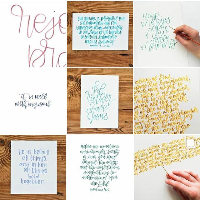 If you've been missing all the painting and pretty letters @abidegoods is where it's at :)
