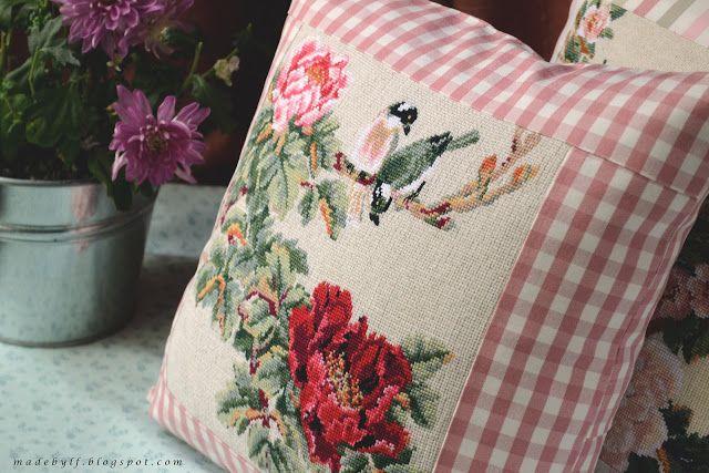 Made by LaFleur: Старые новые подушки / Old new pillows