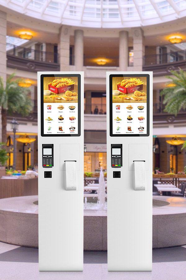 Taiyun Fast Food Restaurant Kiosk Touch Screen Self Service Order Kiosks For Mcd View Self Service Order Kiosks Taiyun Product Details From Guangzhou Taiyun T Digital Menu Boards Digital Menu Kiosk