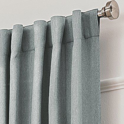 George Home Light Grey Blackout Curtains | Home U0026 Garden | George At ASDA