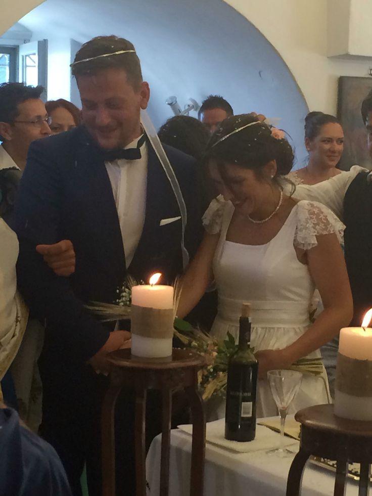 Orthodox Wedding in Sifnos island, Greece. Destination Wedding in Sifnos.