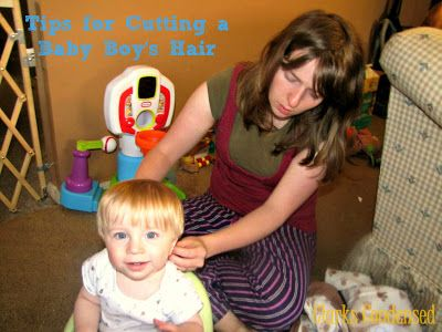 Tips for Cutting a Baby Boy's Hair  |  Clarks Condensed