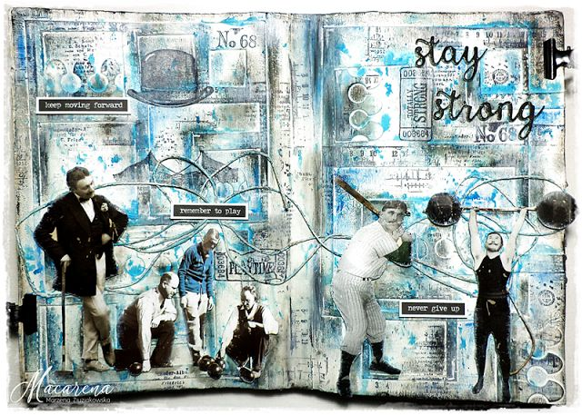macarena-creativa: art journal