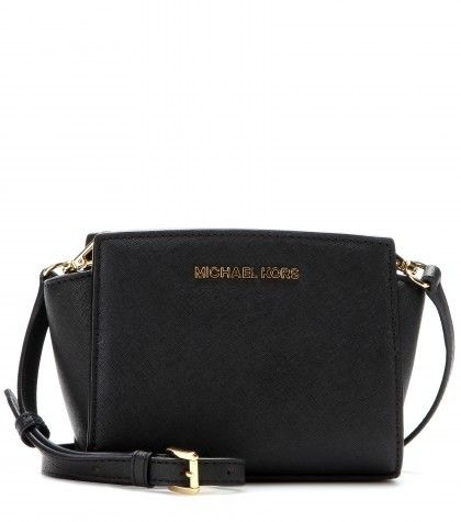 Michael Kors Michael by Selma Mini Messenger Leather Shoulder Bag on shopstyle.co.uk