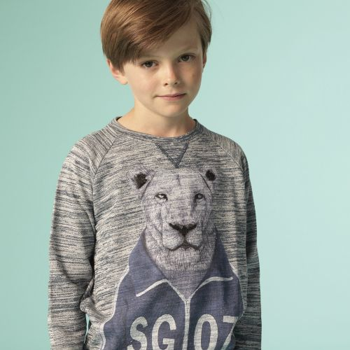 Soft Gallery - Silas Workout Lion sweatshirt, SS15