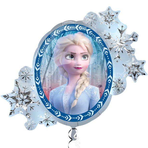 "Disney Frozen Elsa 36/"" Shaped  Helium Balloon Princess Party Extra Large"