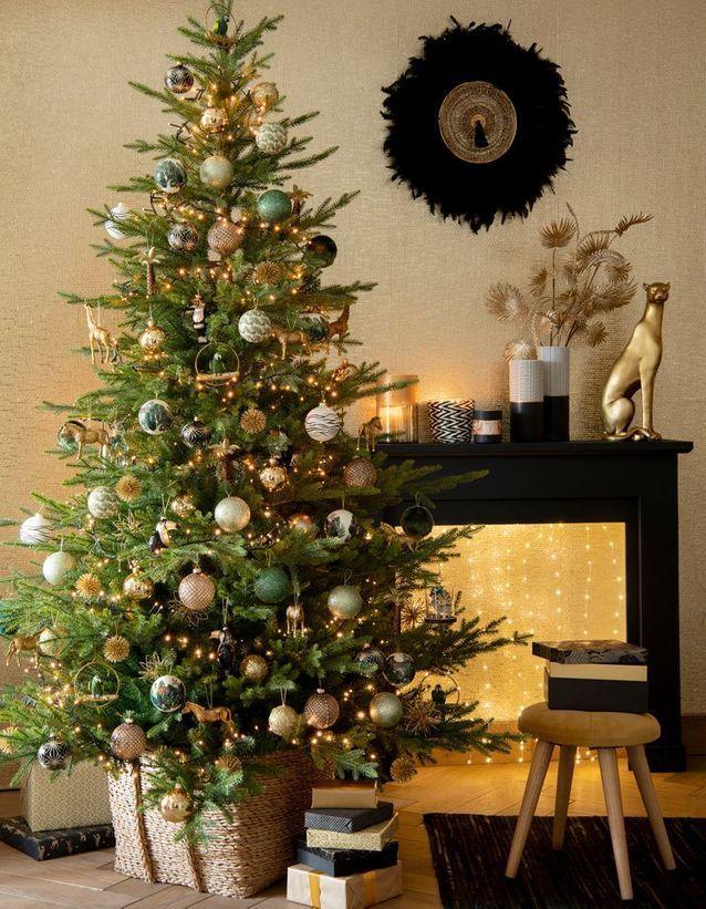 maisons du monde 30 idees deco a piquer a la collection noel white christmas valged joulud pinterest christmas decorations christmas and christmas