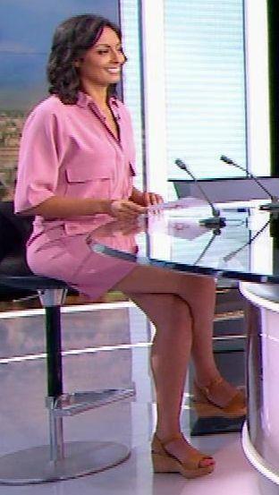 Leila Kaddour | Célébrités - Wedge heels - Chaussures à ...