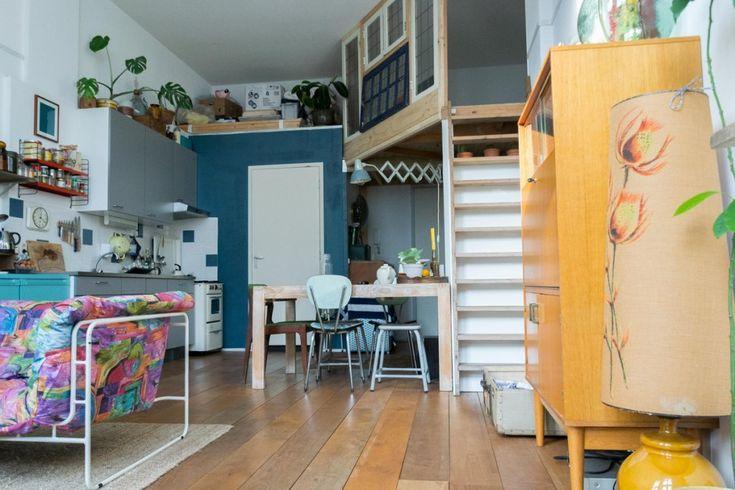Wonderlijk wonen in een studio (35m2)
