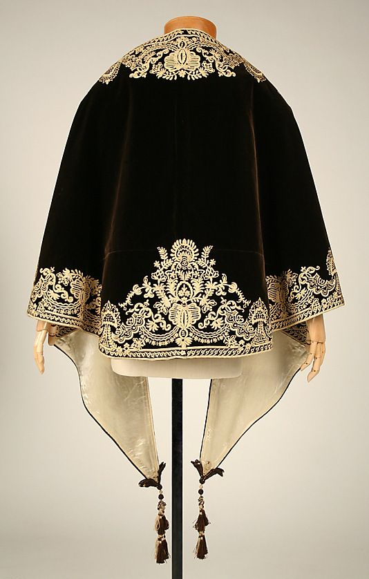 silk mantle 1857-1860 the Metropolitan Museum of Art