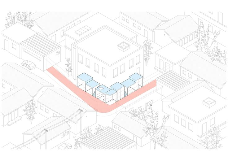 The Best Architecture Drawings of 2016,Courtesy of B.L.U.E. Architecture Studio