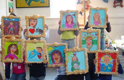 Afbeeldingsresultaat voor zelfportret kinderen
