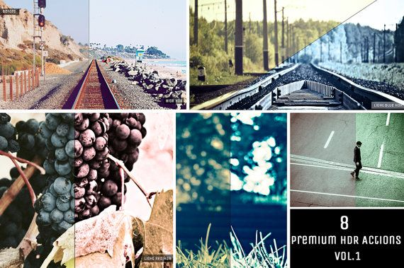 Sale 50 OFF  Premium HDR Actions Vol 1 Photoshop Action by ONESMFA, $3.00
