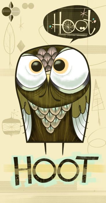 owl: Design Inspiration, Hoot Owl, Fantastic Hysteria, Hoot Hoot, Art, Illustration, Owls, Hoothoot