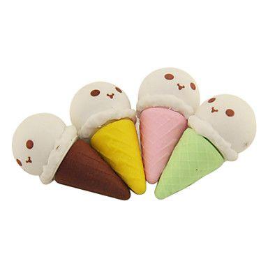 Ice Cream Padrão Eraser (cores aleatórias) - BRL R$ 2,56