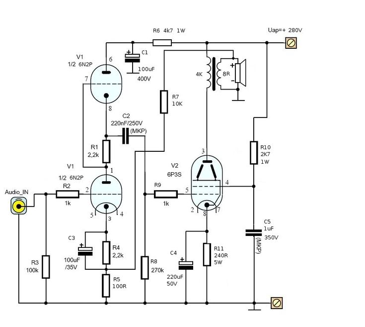 Making Tube Amplifier Wiring Schematic : 38 Wiring Diagram