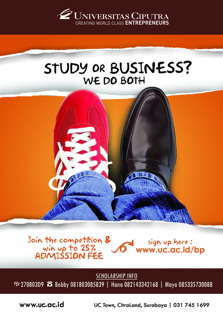 Study or Business? We Do Both