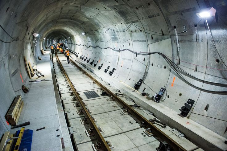 A Look Inside Toronto's Newest Subway Tunnels  A guided tour through the still-unfinished tunnels of the Spadina Subway Extension