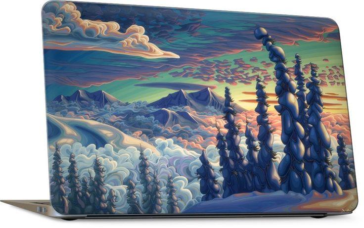 Mountains In My Mind Laptop Skin