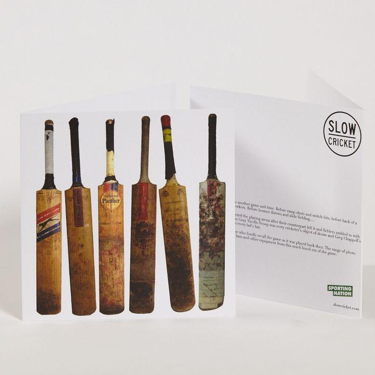 Slow Cricket_Worn Bats Greeting Card.jpg
