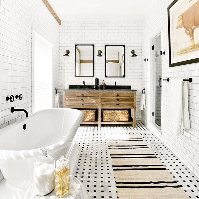 Black & white done right by @timothy_godbold.  Photo by Rikki Snyder.  #1stdibsdesign