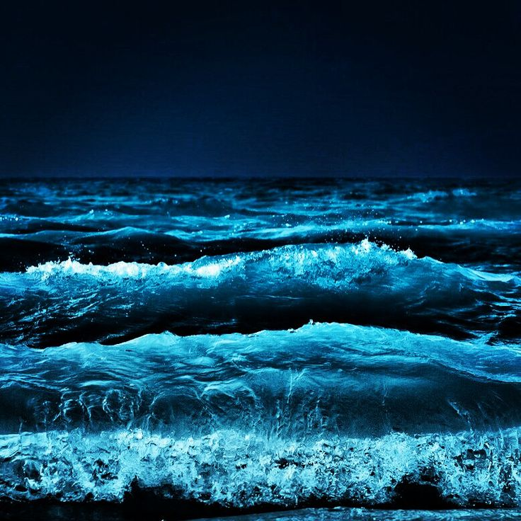 Ocean Waves... I think the ocean is beautiful but I find its vast, deep, darkness scary.