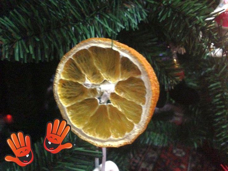 Decoratiuni de Craciun din fructe - 4