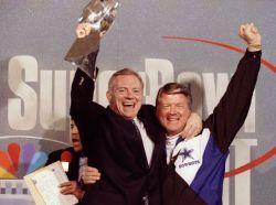 Cowboys Owner/GM Jerry Jones & Cowboys Head Coach Jimmy Johnson, Super Bowl Champions, 1993