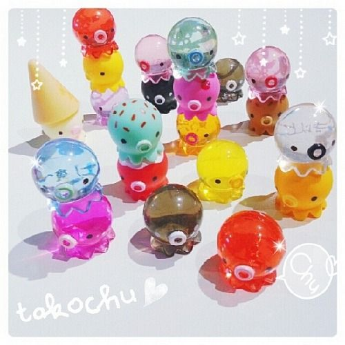 Japanese Kawaii Octopus Toy : Takochu octopus cute pinterest