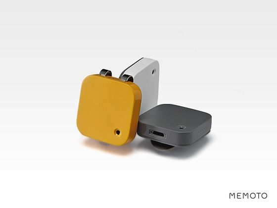 Memoto Lifelogging Camera by Memoto, via Kickstarter  Crowdfunding campaign that raised  Swedish Memoto team $540 000 to develop a camera that aims to make the practice of 'lifelogging' mainstream. The target of $50 000 was reached within 4 hours of launching - a pretty telling indication of market interest. If it can successfully navigate concerns such as the ethical, social & legal issues the technology raises it could revolutionise how humans experience life and memories    Emma Goddard