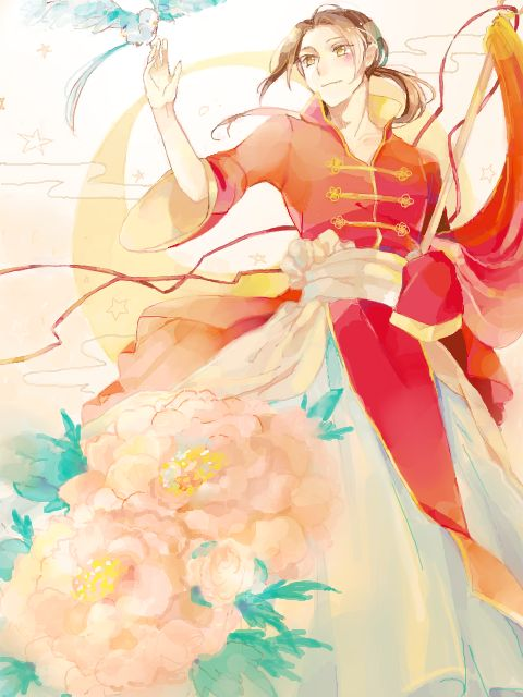 Hetalia- China. Today is celebration of their independence! yay! ^.^