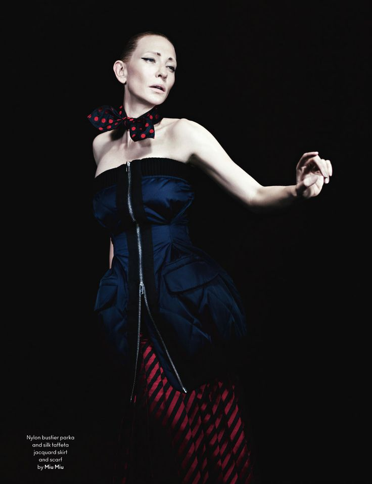 Cate Blanchett by Willy Vanderperre for AnOther Fall/Winter 2013 | Fashnberry