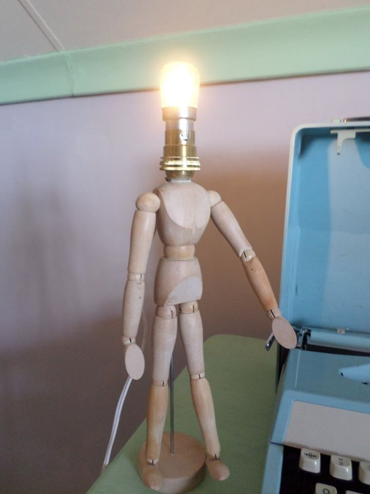 Mannequin doll transformed into a light, With Franscois Potgieter