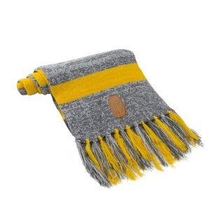 Placedubonheur - Echarpe jaune et grise Les animaux fantastiques