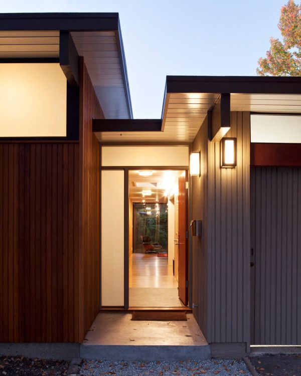 A Front Expansion on an Eichler House by Klopf Architecture in architecture Category