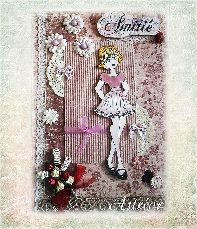 Timbre poupée Prima - création Patoune (Romantika Scrap)