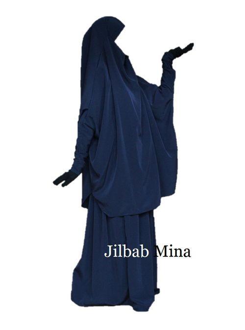 Jilbab 2 pièces jupe
