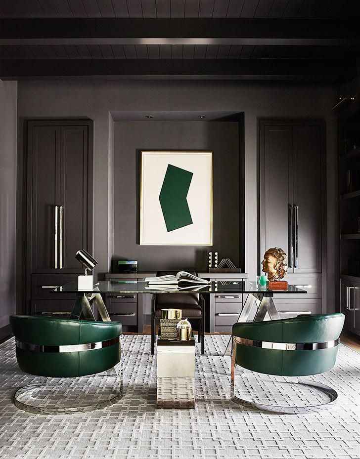 Wonderful New Works By Photographer R Brad Knipstein Home Office Design Modern Home Office Modern Home Office Furniture