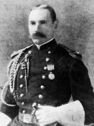 John Jacob Astor IV, a U.S. millionaire businessman who served in the Spanish-American War, died in the sinking of the Titanic. His was one of the 333 bodies recovered from the ship. Astor was identified by the initials sewn on the label of his jacket. He also had a gold pocket watch that his son, Vincent, claimed and wore the rest of his life.