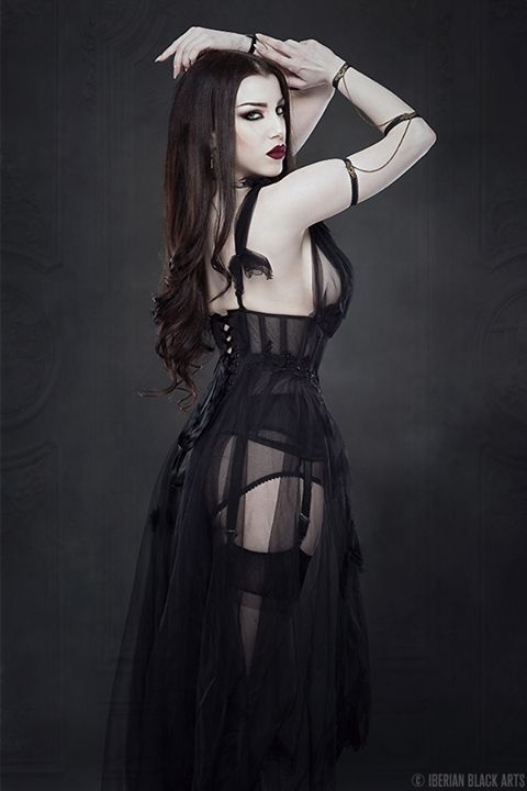 Model: Threnody In Velvet Photo: Iberian Black... - Gothic and Amazing