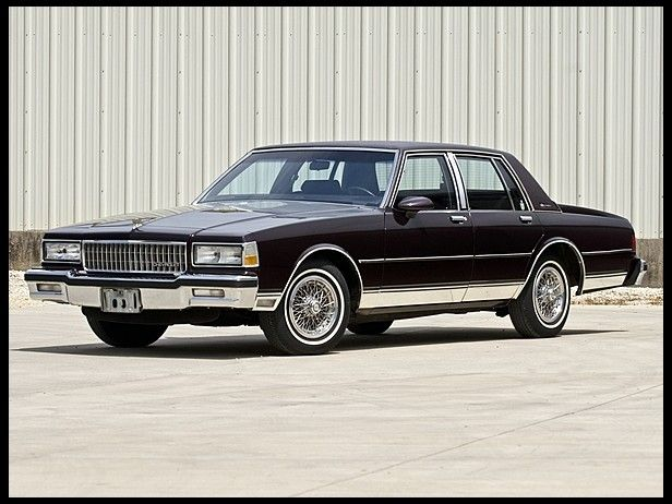 1989 Chevrolet Caprice Brougham Four Door Sedan
