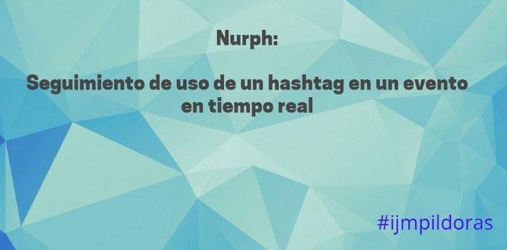 Si te gustan los chat en Twitter @Nurph es tu solución ... #ijmpildoras