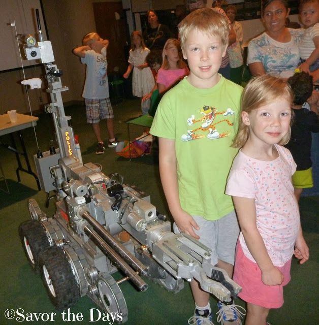Savor The Days: STEM Education: Learning about Robots at the Irving Library