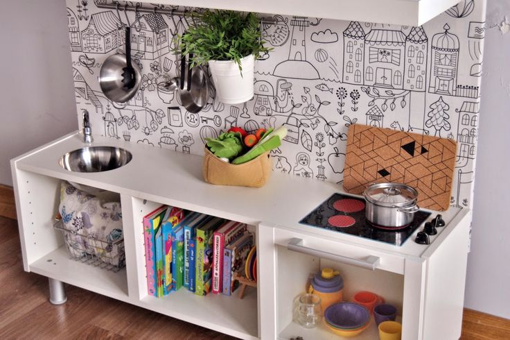 12 best mi cocina de juguete images on pinterest play kitchens toys and walk in - Cocina de juguete step 2 ...