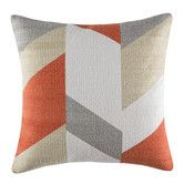 Found it at Temple & Webster - Finnley Orange Square Cushion