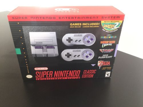 Snes Classic Mini Edition Modded/Hacked 356 Snes/Nes All Top Games100% Tested | eBay