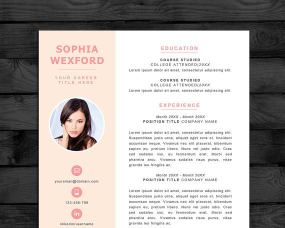 25 Best Modern Cv Images On Pinterest | Cv Template, Resume Ideas