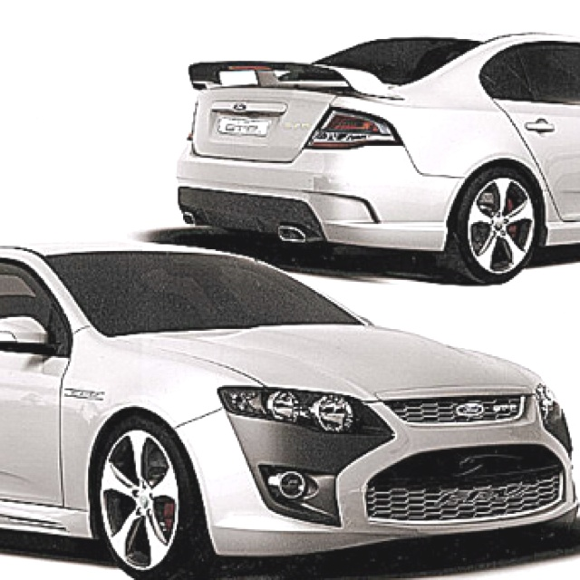 2013 Ford Falcon! I want this car.